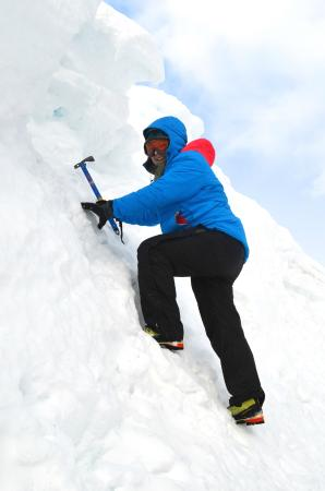Cairngorm Adventure Guides: Me doing a little Ice Axe Practise