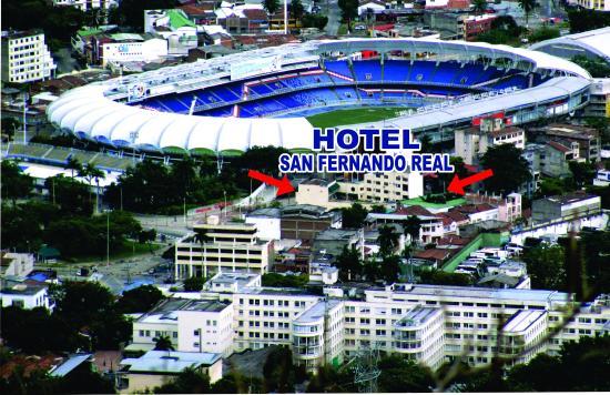 San Fernando Real Hotel Estadio