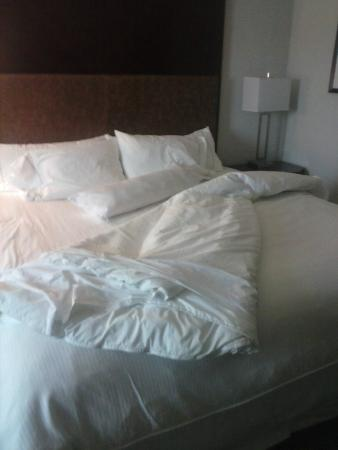 The Westin Richmond: Bed (sorry, already unmade)