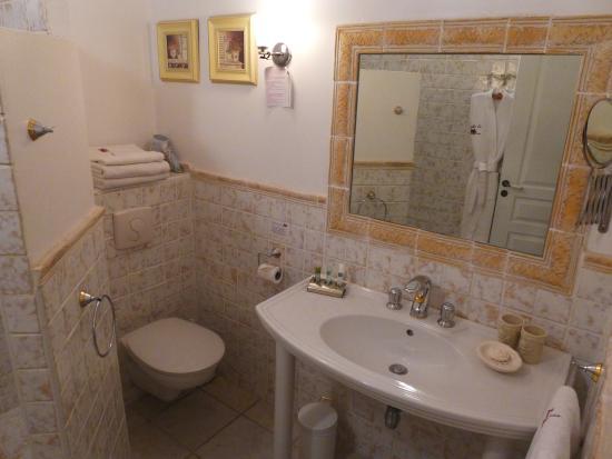 Bastide aux Camelias: Jasmine room bathroom