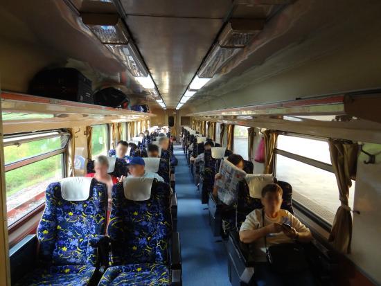 1等車の車内の様子 - クアラルンプール、マレー鉄道の写真 - トリップ ...