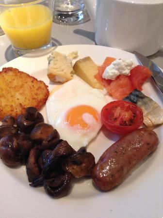 Golden Arrow Restaurant: breakfast was so nice