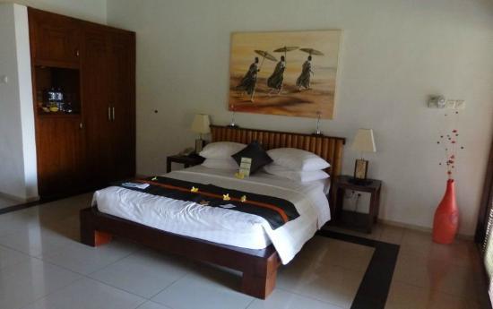 Siddhartha Ocean Front Resort & Spa: Onze slaapplaats