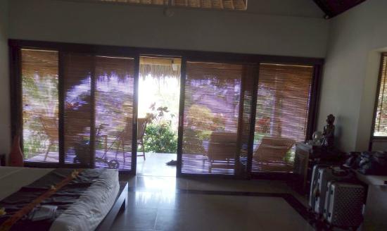 Siddhartha Ocean Front Resort & Spa: uitzicht vanuit de kamer
