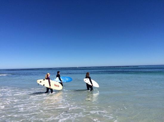 Learn 2 Surf Cape Town: Beautiful ocean
