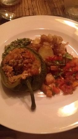 GourmetSki: vegetarian meal