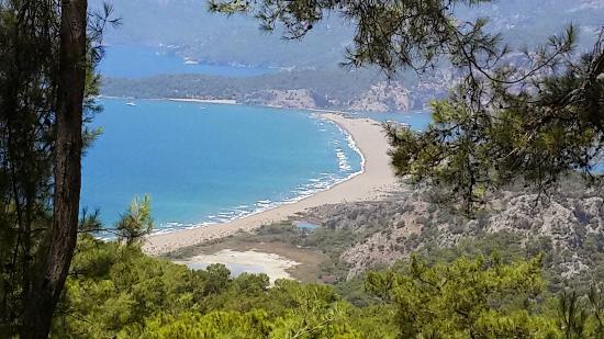 Iztuzu Beach : Tepeden İztuzu Sahili