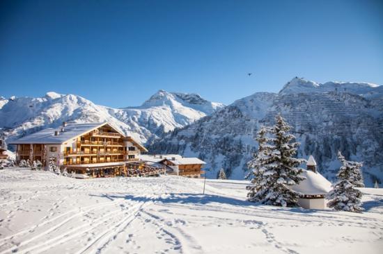 Hotel Montana: Aussen