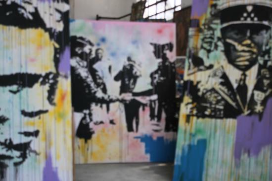 """Is'Art Galerie: Exposition """"Juxtaposition"""" de Tahina Rakotoarivony."""