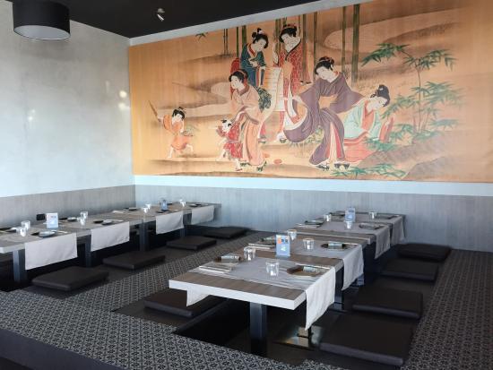 La nostra area tatami foto di kanji ristorante for Tatami giapponese