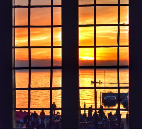 La Loggia e La Barchessa Rambaldi : Вид из окна