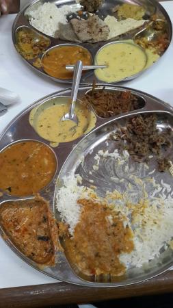 Riddhi Siddhi Restaurant: Rajasthani Thali for Rs. 180