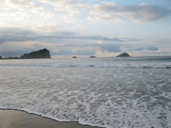 Hotel Verde Mar : vue de la plage