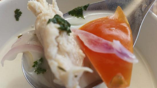 Wang Thai: Tom kha soup.. Just as good as the Tom Yum...