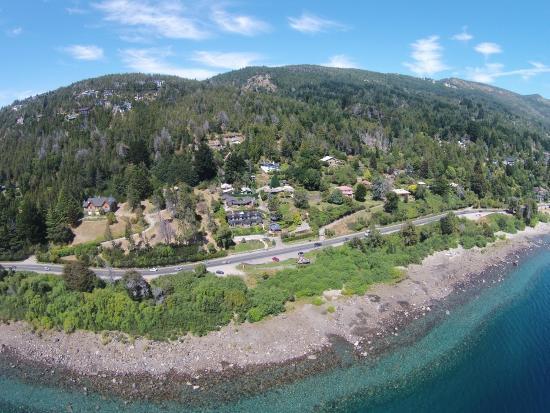 Bungalows La Caleta: Vista aérea