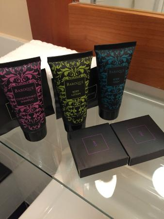 Westwood House Hotel: Nice products