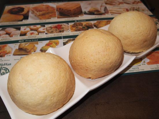 Tim Ho Wan: Baked Bun with BBQ Pork