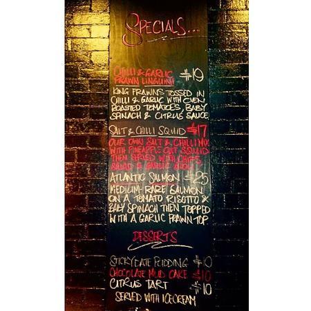 Stagger Inn: Tasty specials!
