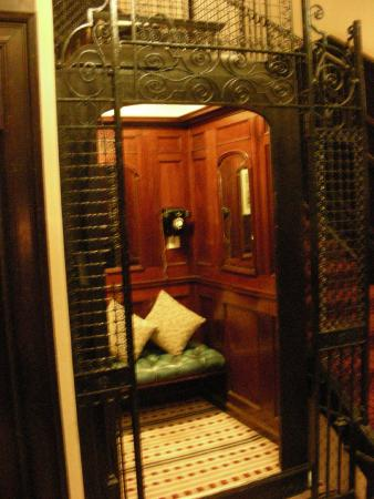 parliament house hotel the old elevator now just a place to relax