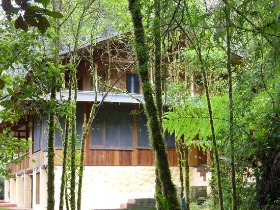 Zamora-Chinchipe Province, Ecuador: Rückseite der Simpson-Lodge