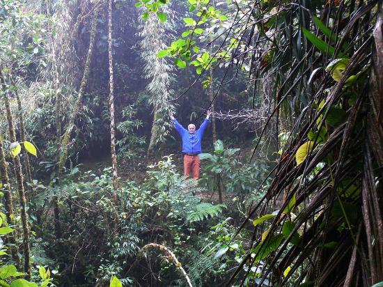Zamora-Chinchipe Province, Ecuador: Happiness im Simpson-Gelände