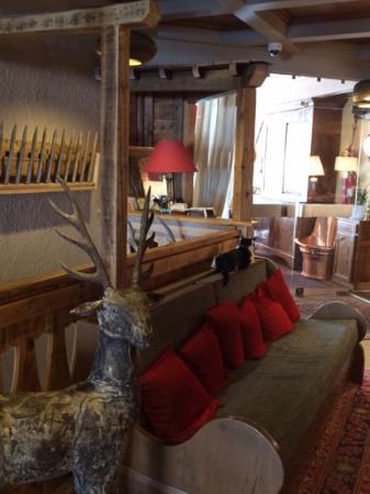 Hotel & Résidence LE PORTILLO : Reception