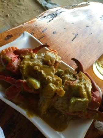 Bacuit Grill : crab with curry