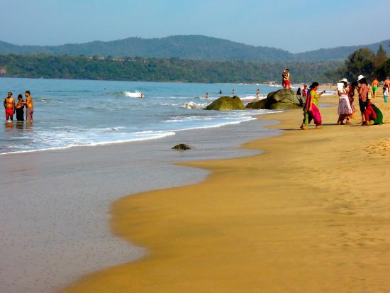 Om Sai Beach Huts: Agenda beach