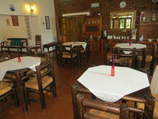 Mount Azimbo Lodge : Dining room.