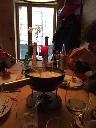 dü Saas-Fee: Fab fondue