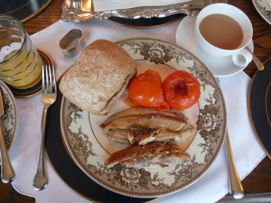 Port Erin Bed & Breakfast: Kipper breakfast