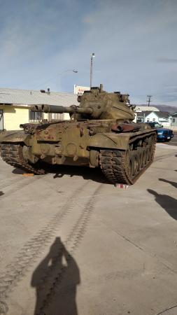 Hawthorne, NV: new tank