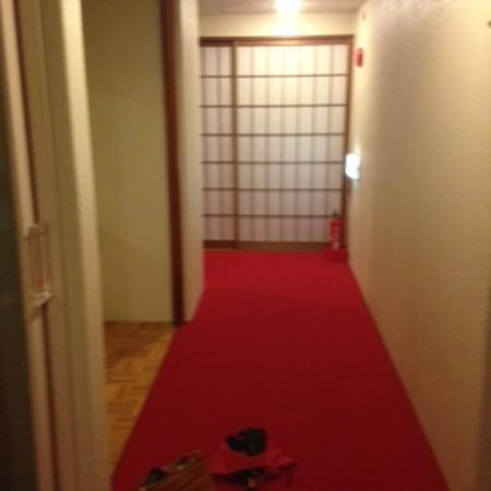 Matsumoto Ryokan: Hallway