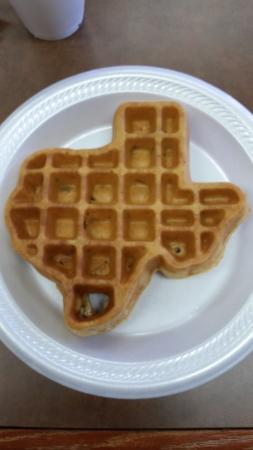 Super 8 by Wyndham Houston/Nasa/Webster Area: Texas Waffle