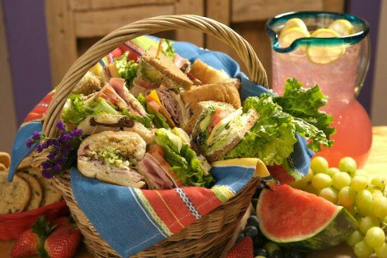 Baggins Sandwich Basket Catering Picture Of Baggins Gourmet
