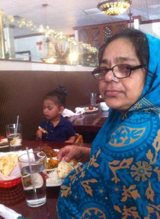 Indus Indian & Herbal Cuisine: my mother & my daughter