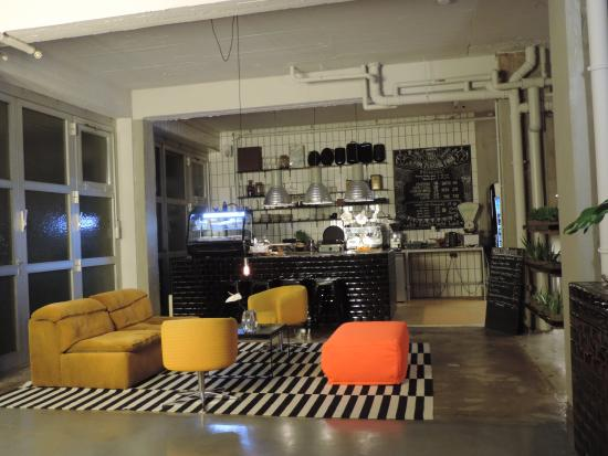 Wallyard Concept Hostel Living Breakfast Room