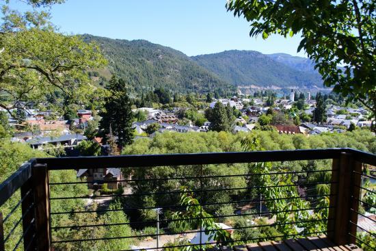 Altos del Alma: Vista desde el deck, Cabaña del Sol