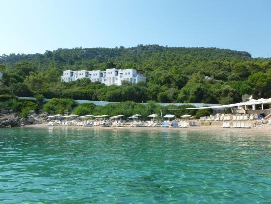 Club Med Kemer: Club vu de la mer
