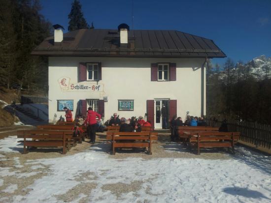 Schillerhof: La terrazza panoramica dove si gode la vita
