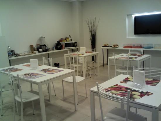 Lofts in Rome: comedor donde desayunabamos