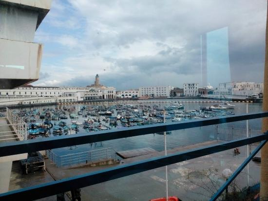 Le Dauphin: the view from the restaurant