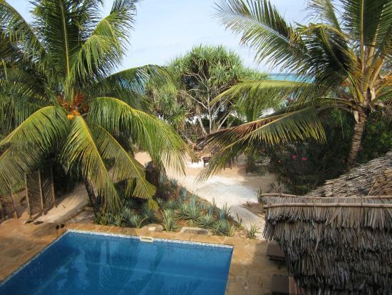 Tamani Villas : udsigt fra altan