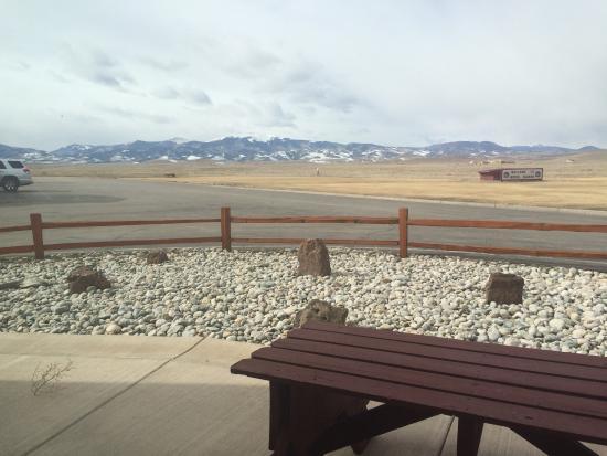 Best Western Movie Manor : View from breakfast room