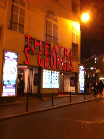 Spectacles De Paris: Entrée du théâtre