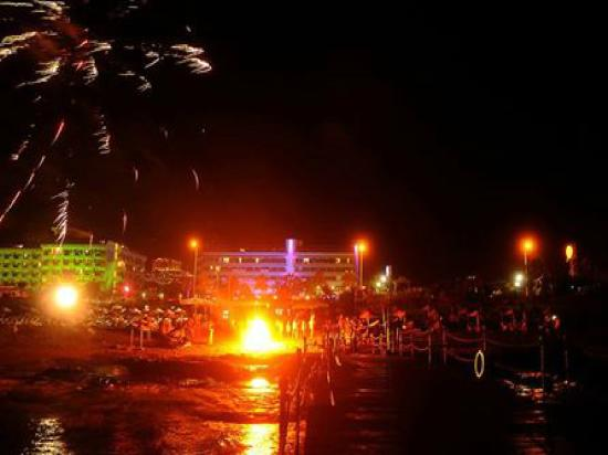 Kargicak, Turkije: Fire Show