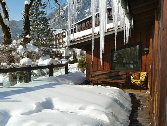 Hotel Prinz-Luitpold-Bad: Blick aus dem Ruhebereich