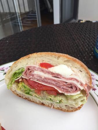 The Italian Deli & Market: The Italian sandwich, yum!