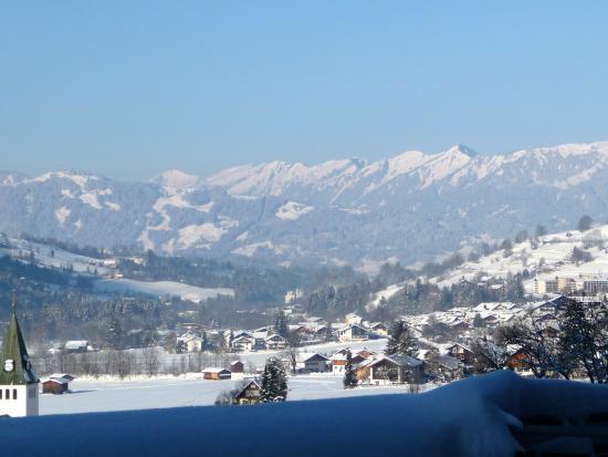 Hotel Prinz-Luitpold-Bad: Blick vom Balkon