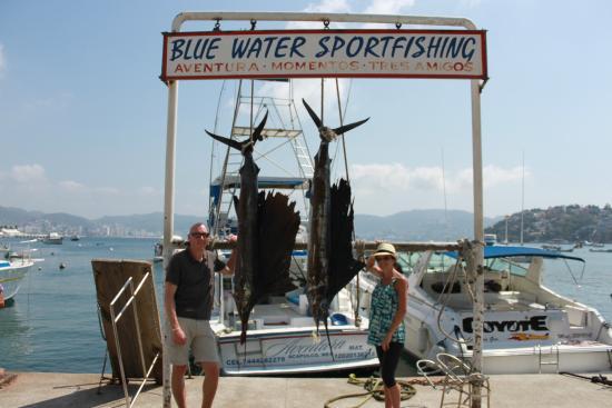Blue Water Sportfishing: Boom!